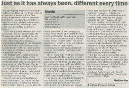 Review, 2000, The Telegraph