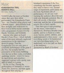 Review, 2002, Edinburgh Herald