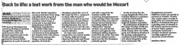 Review, 2002, The Daily Telegraph