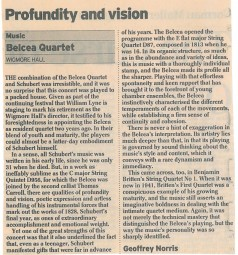 Review, 2003, The Daily Telegraph