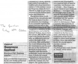 Review, 2003, The Guardian