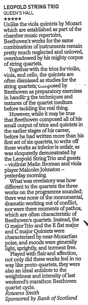 Review, 2003, The Herald