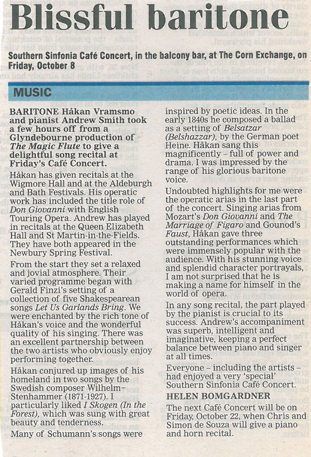 Review, 2004, Newbury Weekly News