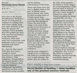 Review, 2006, The Times