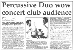 Review, 2008, Basingstoke Gazette