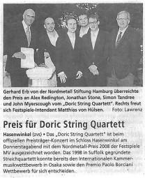 Review, 2009, Schweriner Volkszeitung