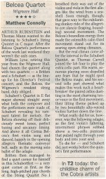 Review, The Times, Wigmore Hall