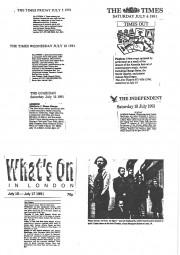 Reviews, 1991, Almeida Festival
