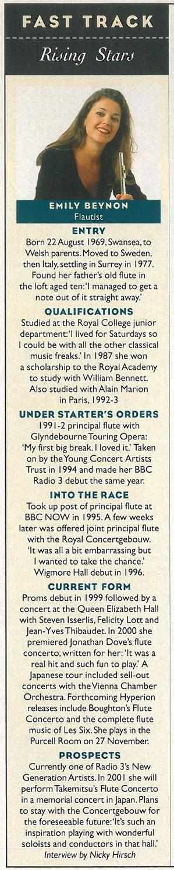 Rising Star, 2000, BBC Music Magazine