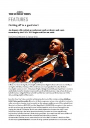Review, 2012 The Sunday Times, p1