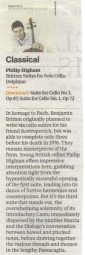 CD Review, 2013, The Independent