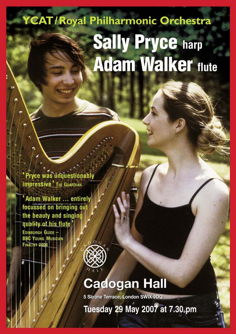 Flyer, 2007, Cadogan Hall