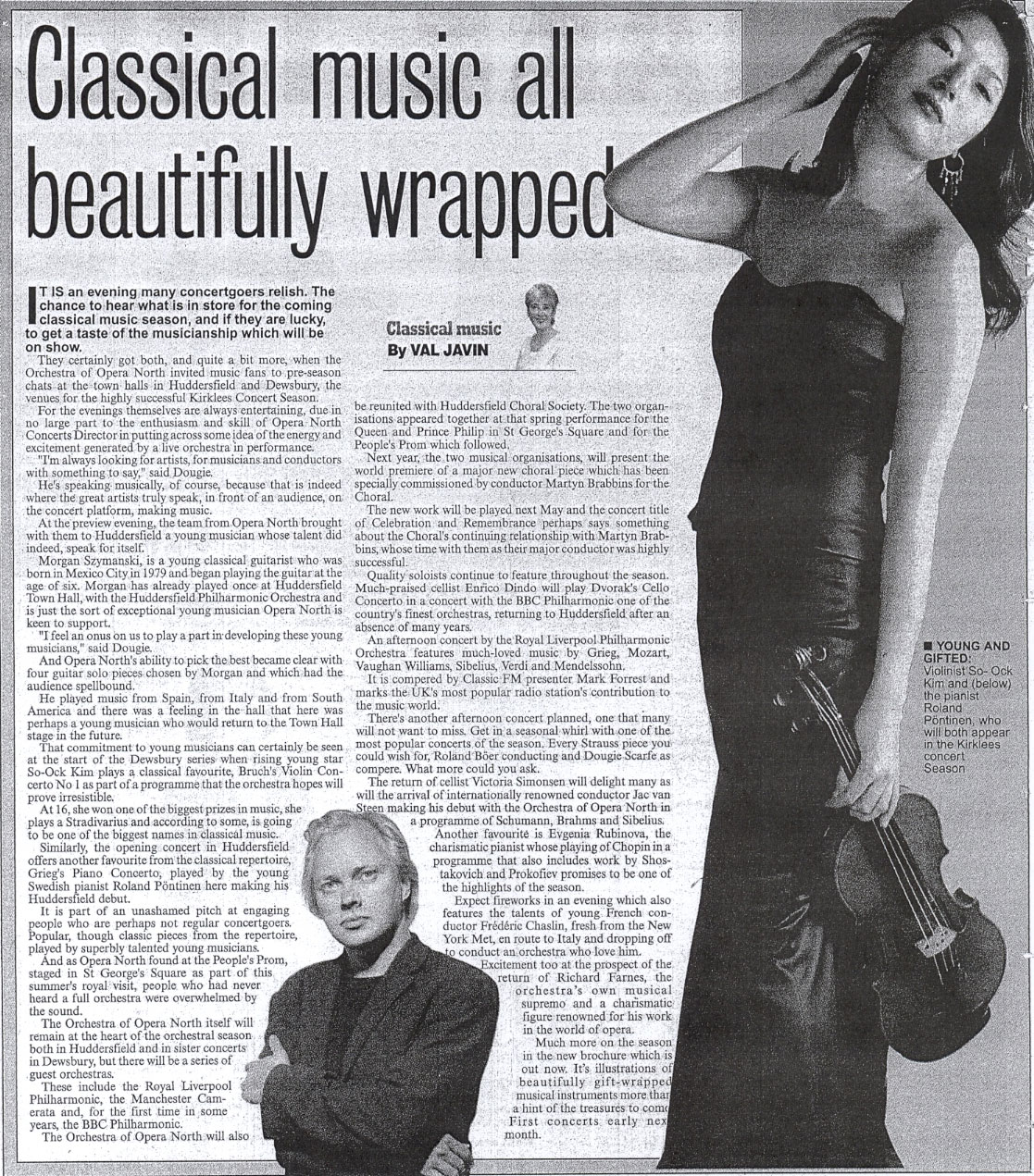 Review, 2007, Huddersfield Daily Examiner