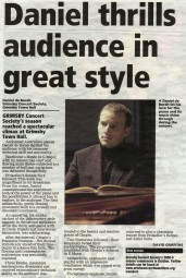 Review, 2008, Grimsby Telegraph