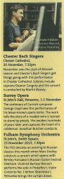 Feature, 2013, BBC Music Magazine