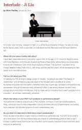 Interview, 2014, Interlude, p1