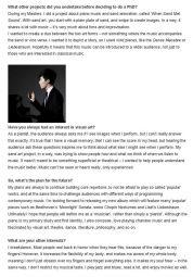 Interview, 2014, Interlude, p2