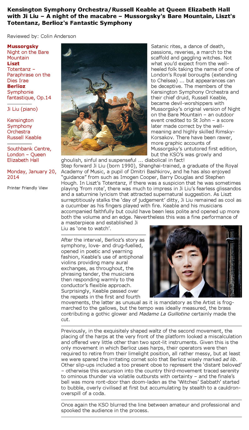 Review, 2014, Classical Source