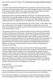 Review, 2014, Seen and Heard International, p1