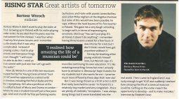 Rising Star Feature, 2013, BBC Music Magazine