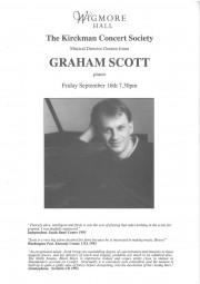 Programme, 1993, Kirckman Concert Society