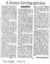 Review, 1993, Daily Telegraph