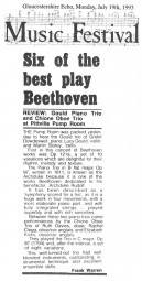 Review, 1993, Gloucestershire Echo