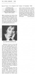 Review, 1993, The Strad, WIgmore Hall