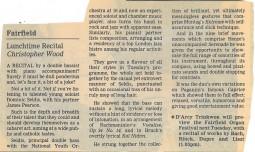 Review, 1996, Croydon Advertiser
