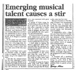 Review, 1996, The Chronicle