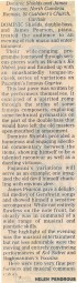 Review, 1997, The Cumberland News