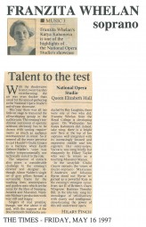 Review, 1997, The Times