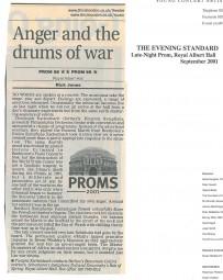 Review, 2001, Evening Standard