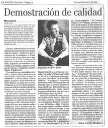 Review, 2002, La Nacion