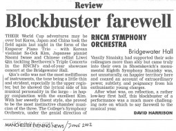 Review, 2002, Manchester Evening News