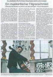 Review, 2009, Frankische Landeszeitung