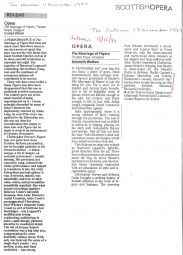 Reviews, 1999, The Marriage of Figaro