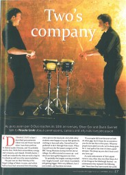 Article, 2010, Music Teacher Magazine, p1