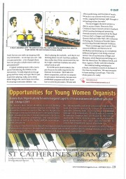Article, 2010, Music Teacher Magazine, p3