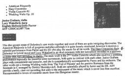 CD review, 2001, Classical Net