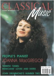 Cover Feature, 1991, Classical Music
