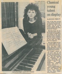 Feature, 1985, Glasgow Herald