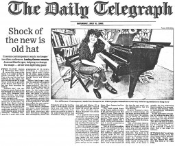Feature, 1991, The Daily Telegraph