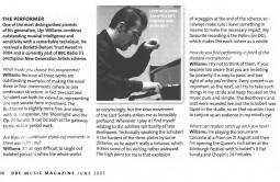 Interview, 2005, BBC Music Magazine