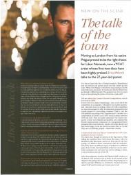 Interview, 2006, Pianist Magazine