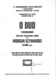 Leaflet, 2006, Kammermusik-Zyklus