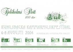 Programme, 2004, Chamber Music Festival