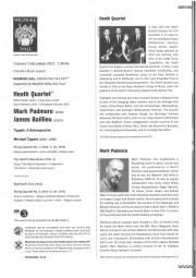 Programme, 2013, Wigmore Hall