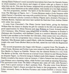 Review, 1990, Opera Magazine