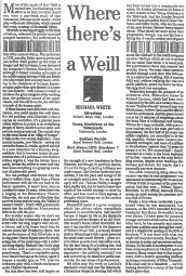 Review, 1999, The Independent on Sunday